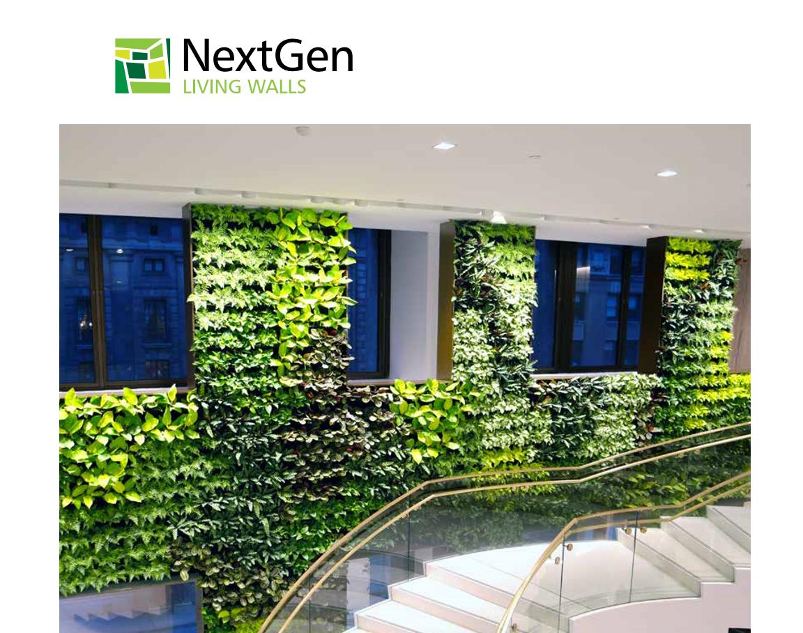 New Nextgen Living Walls Brochure Nextgen Living Walls
